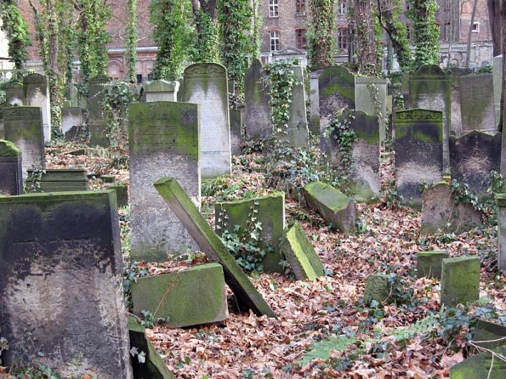 Jüdisher Friedhof, Schönhauser Allee à Berlin